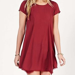 silence + noise Dresses - Urban Outfitters Red Witchy T-Shirt Dress